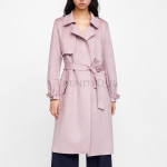 Winter Special Suede Leather Trench Coat