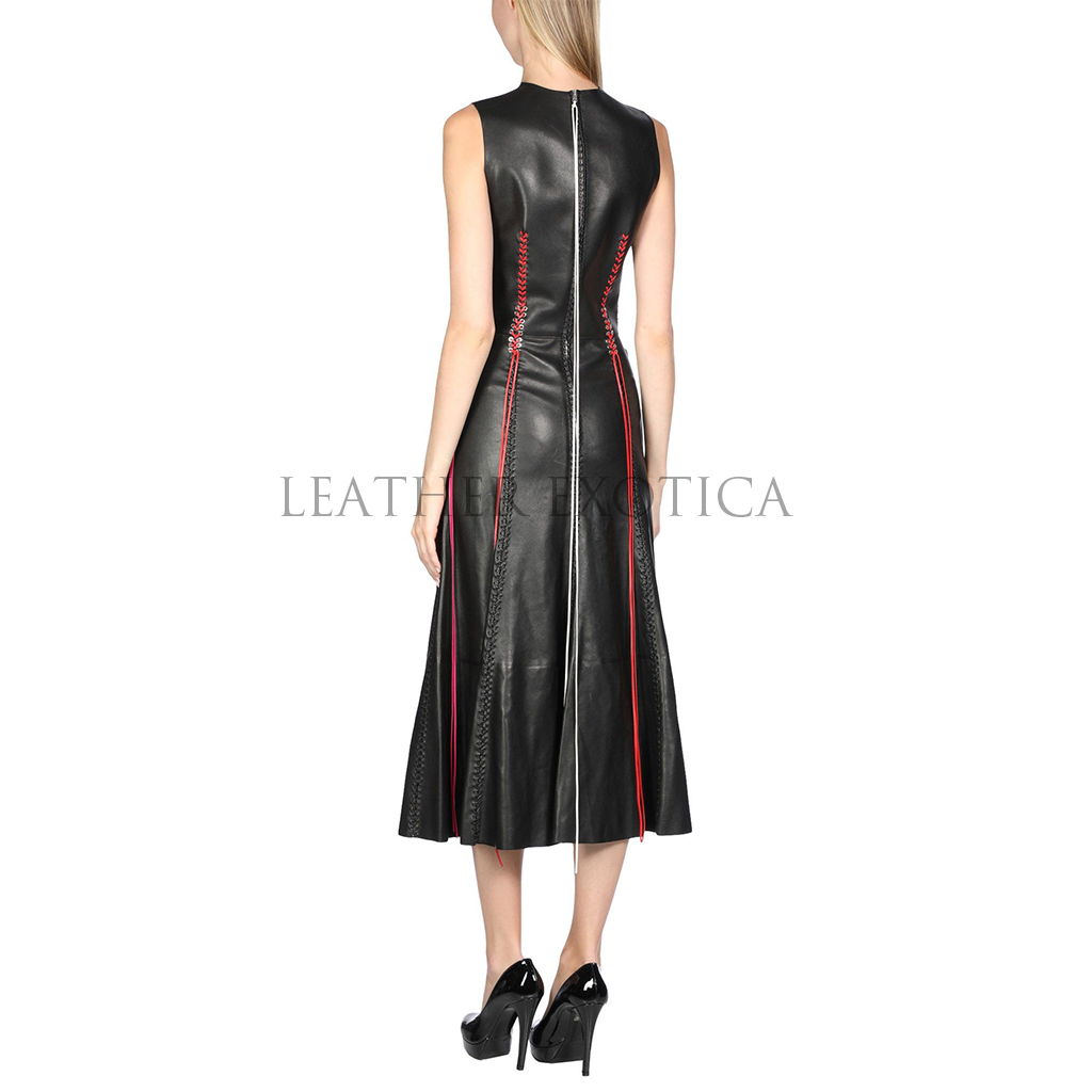 d0f562d3070 ... Long Laced Styled Premium Women Leather Dress. leatherdress101 ·  leatherdress101b leatherdress101c
