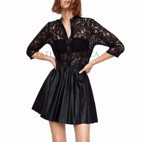 Lace Women Mini Dress