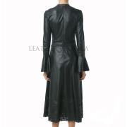 long leather dress-01