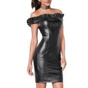 RUFFLE DETAILING WOMEN LITTLE BLACK DRESS