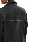 Unique Style Women Biker Jacket  back