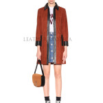 DayTime Suede Leather Coat For Women