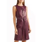 Daytime Women Mini Leather Dress