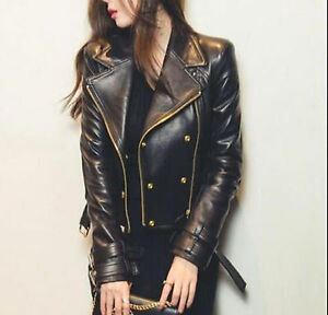 f016c9c3463f7 Women motorcycle leather jackets are one of the best and awesome styled  leather outfits for women even for riding or even to be in trend.